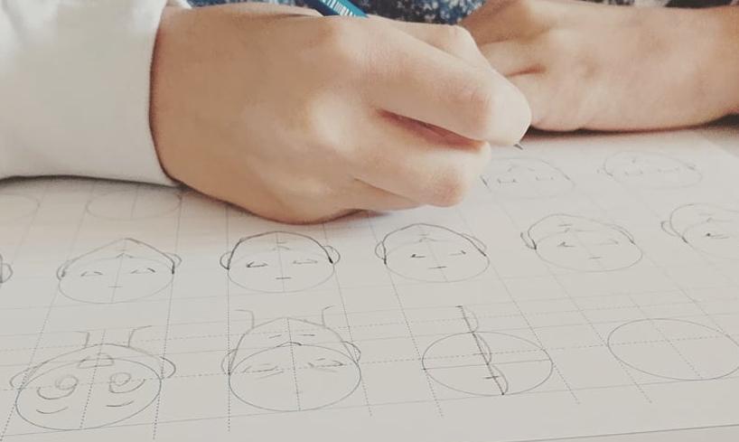 stage de dessin manga élève